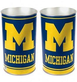 WINCRAFT Michigan Wolverines Wastebasket