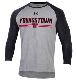 UNDER ARMOUR Youngstown State Penguins Men's Charged Cotton Raglan Top