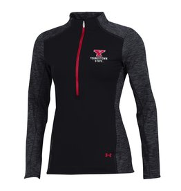 UNDER ARMOUR Youngstown State Penguins Women's Coldgear Nodus 1/2 Zip Top