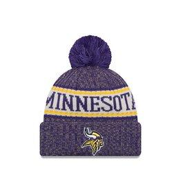NEW ERA Minnesota Vikings NFL 2018 OnField Sport Knit