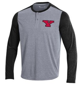 UNDER ARMOUR Youngstown State Penguins Men's Threadborne Henley Top