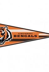 "Cincinnati Bengals 12""x30"" Classic Pennant"