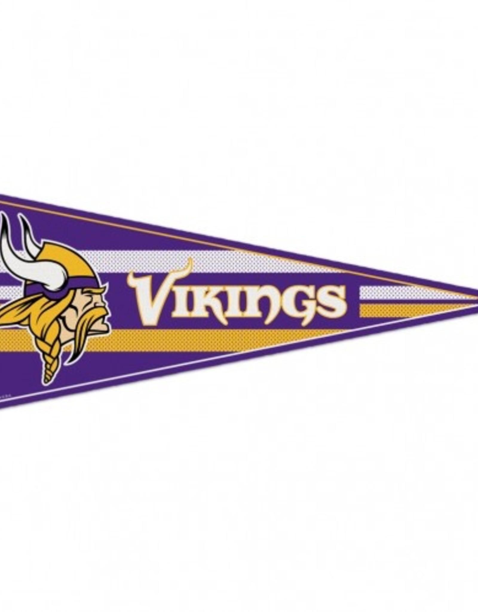 "Minnesota Vikings 12""x30"" Classic Pennant"
