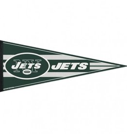 """New York Jets 12""""x30"""" Classic Pennant"""