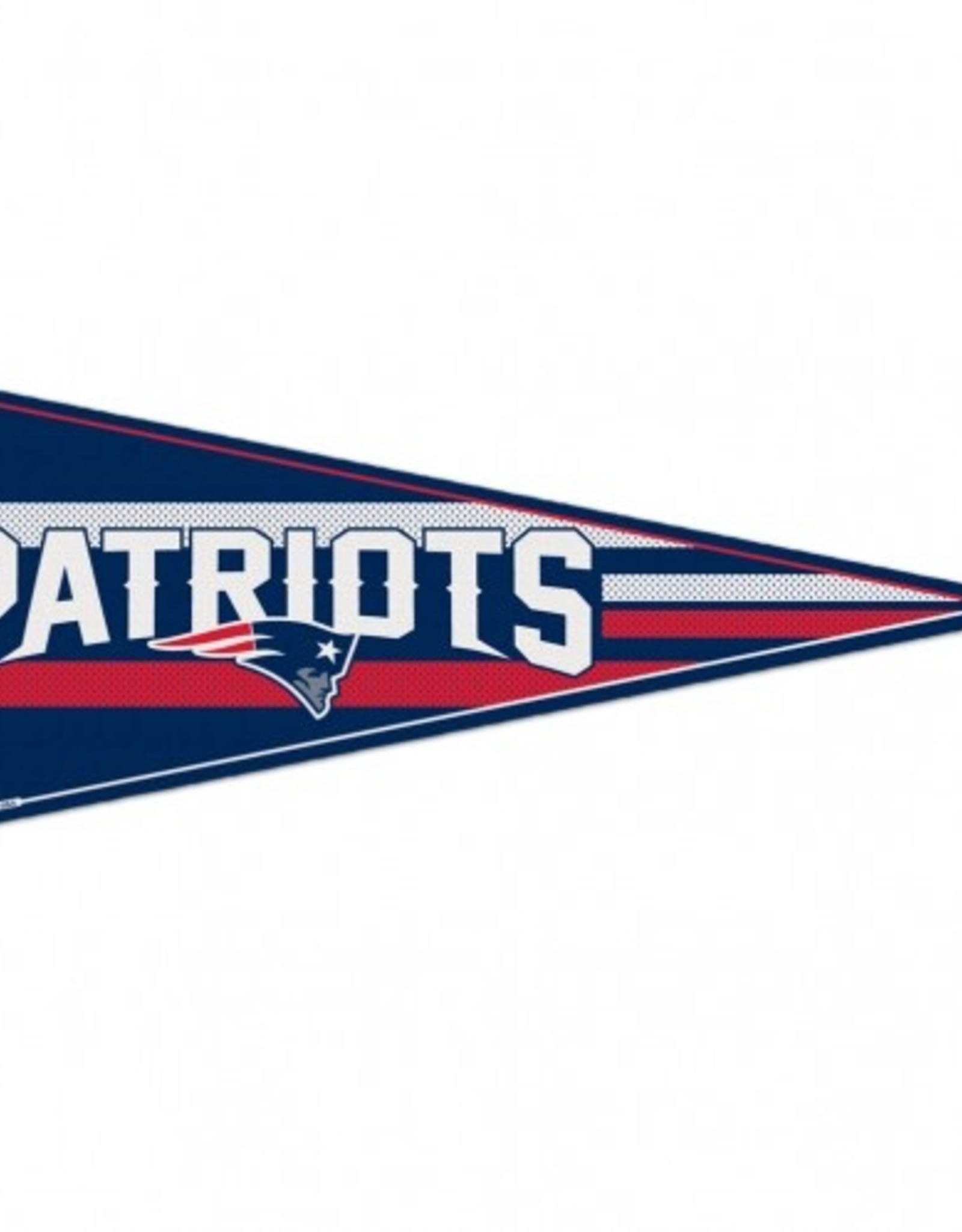 "New England Patriots 12""x30"" Classic Pennant"