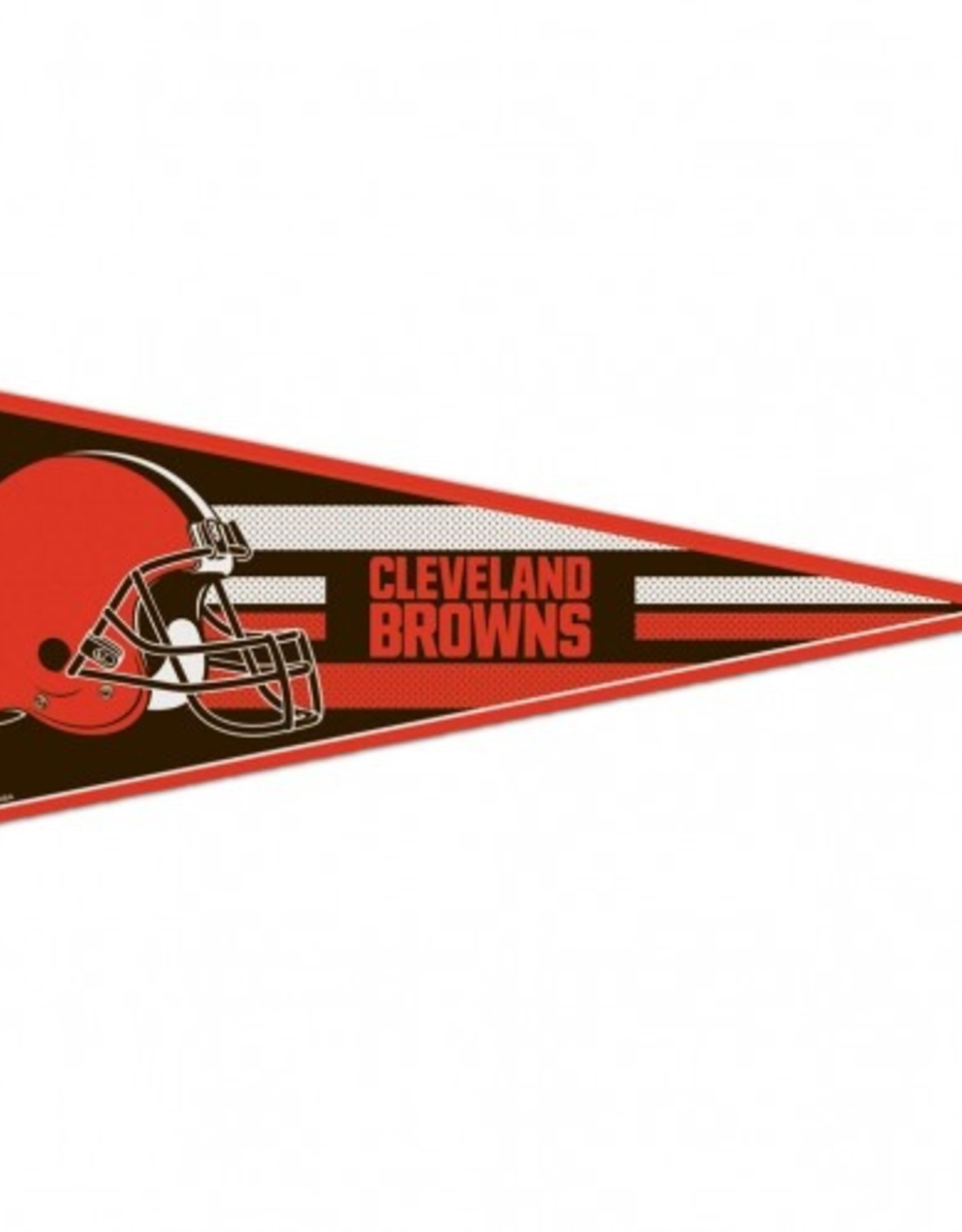 "Cleveland Browns 12""x30"" Classic Pennant"