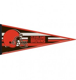 """Cleveland Browns 12""""x30"""" Classic Pennant"""
