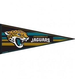 "Jacksonville Jaguars 12""x30"" Classic Pennant"