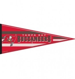 """Tampa Bay Buccaneers 12""""x30"""" Classic Pennant"""