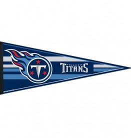 """Tennessee Titans 12""""x30"""" Classic Pennant"""