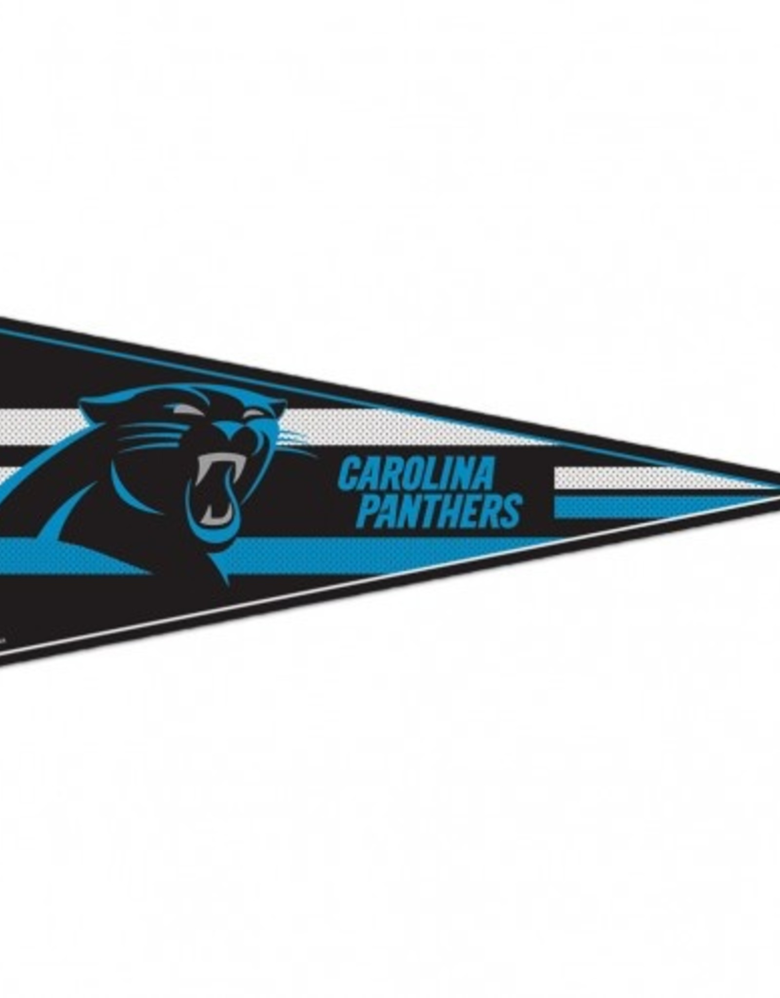 "Carolina Panthers 12""x30"" Classic Pennant"