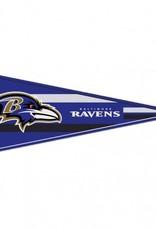 "Baltimore Ravens 12""x30"" Classic Pennant"