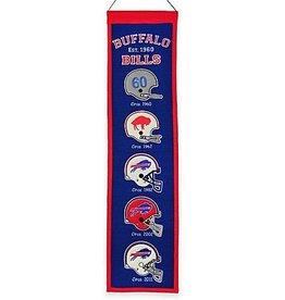 WINNING STREAK SPORTS Buffalo Bills Heritage Banner