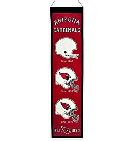 WINNING STREAK SPORTS Arizona Cardinals Heritage Banner