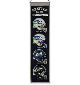 WINNING STREAK SPORTS Seattle Seahawks Heritage Banner