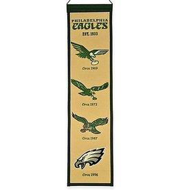 WINNING STREAK SPORTS Philadelphia Eagles Heritage Banner