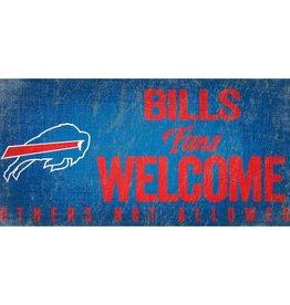 FAN CREATIONS Buffalo Bills Fans Welcome Sign