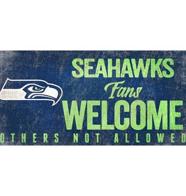FAN CREATIONS Seattle Seahawks Fans Welcome Sign