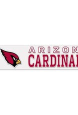 "WINCRAFT Arizona Cardinals 4""x17"" Perfect Cut Decals"