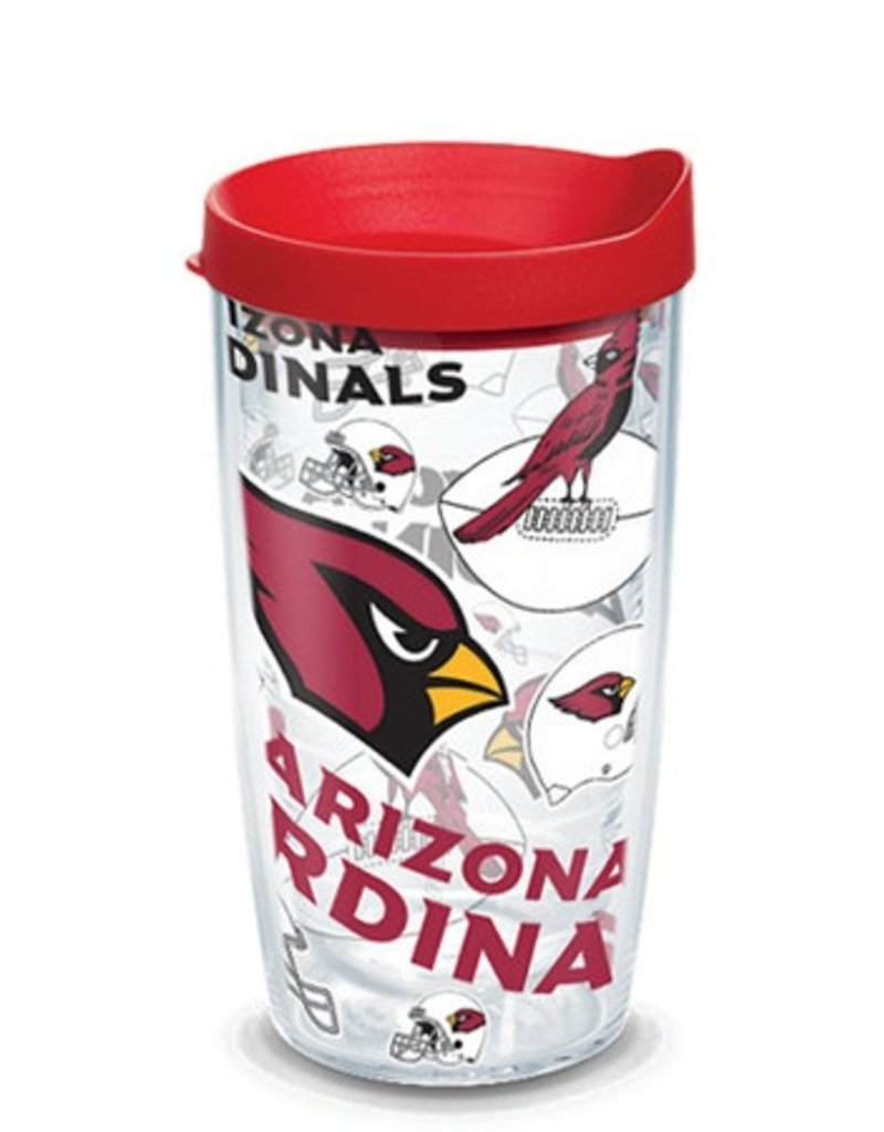 Arizona Cardinals 16oz Tervis All Over Print Tumbler