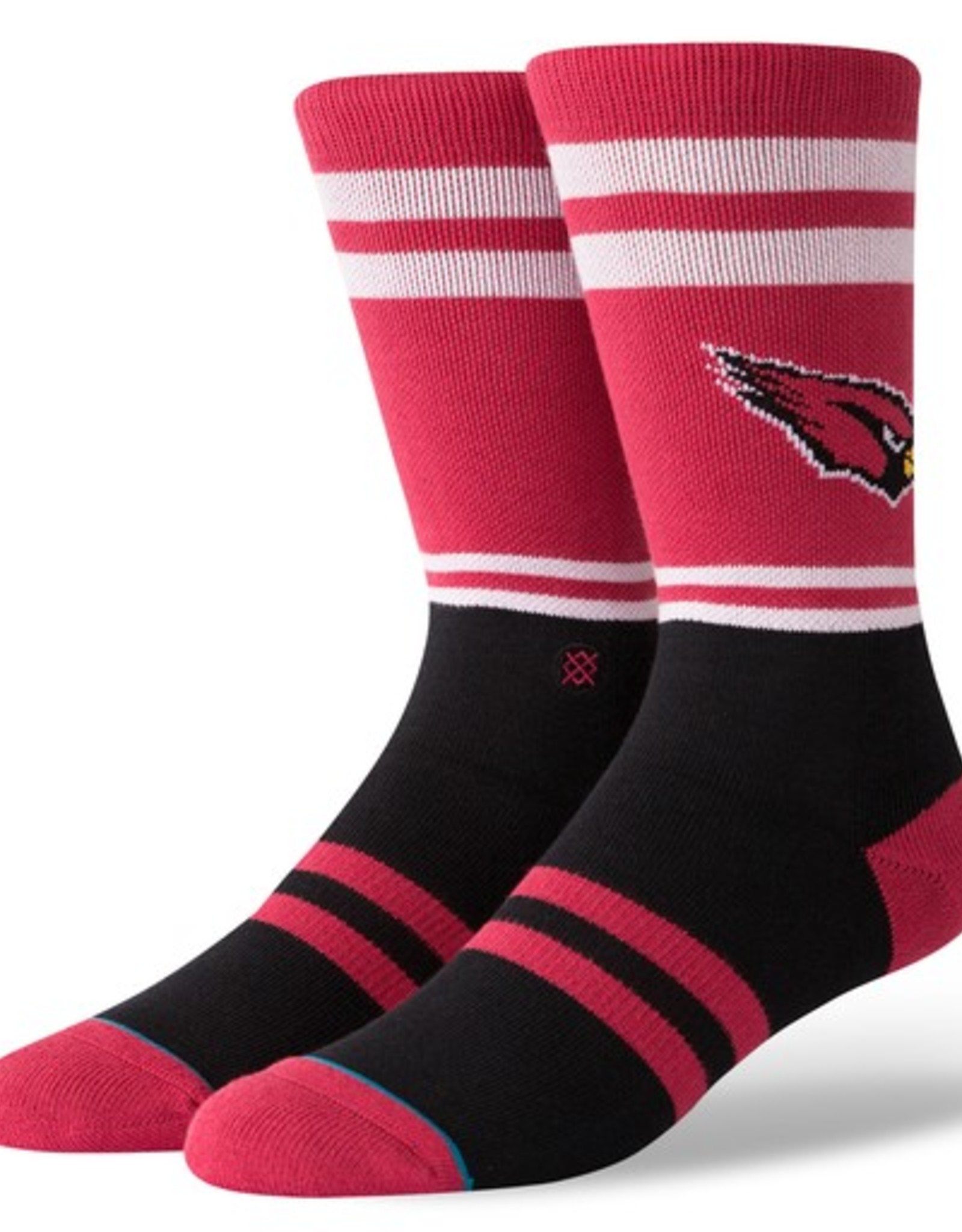 STANCE Arizona Cardinals Logo Crew Socks