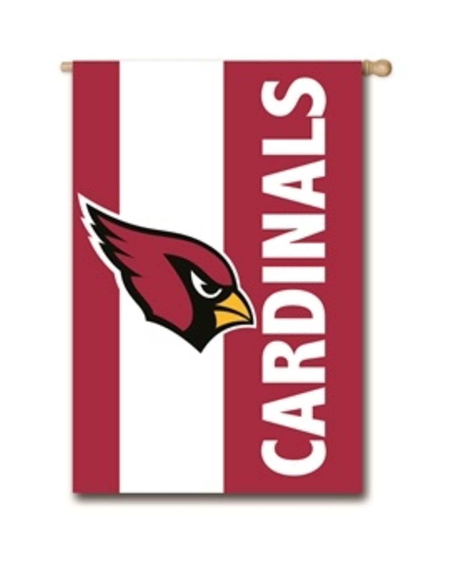 "EVERGREEN Arizona Cardinals 28"" x 44"" Striped House Flag"