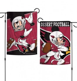 "WINCRAFT Arizona Cardinals Disney Mickey Mouse 12.5"" x 18"" Garden Flag"