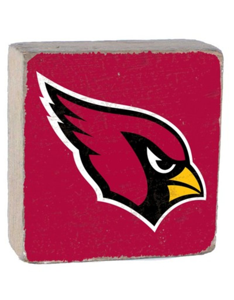 RUSTIC MARLIN Arizona Cardinals Rustic Wood Team Block