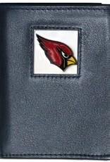 Arizona Cardinals Executive Black Leather Trifold Wallet