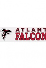 "WINCRAFT Atlanta Falcons 4""x17"" Perfect Cut Decals"