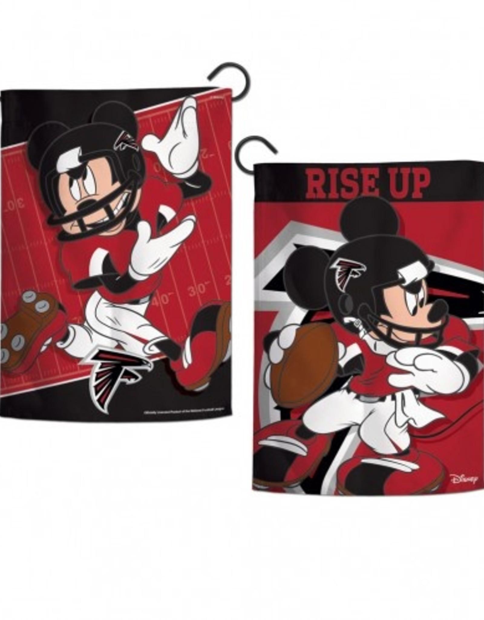 """WINCRAFT Atlanta Falcons Disney Mickey Mouse 12.5"""" x 18"""" Garden Flag"""