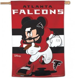 "WINCRAFT Atlanta Falcons Disney Mickey Mouse 28"" x 40"" House Flag"