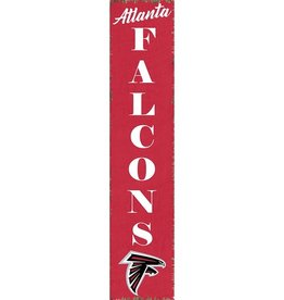 RUSTIC MARLIN Atlanta Falcons Vertical Rustic Sign