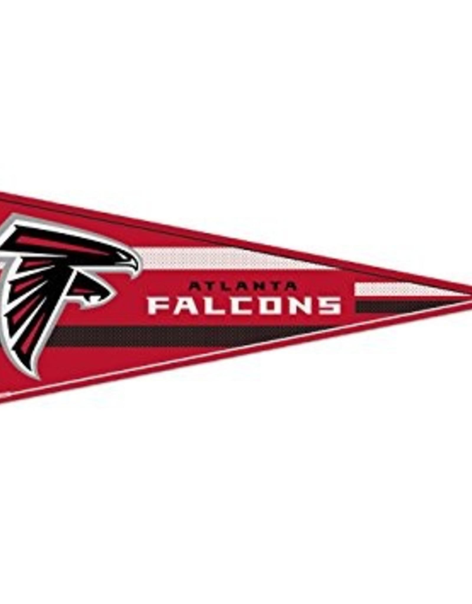 """Atlanta Falcons 12""""x30"""" Classic Pennant"""