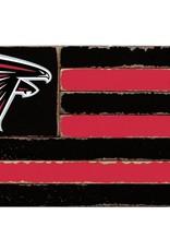RUSTIC MARLIN Atlanta Falcons Rustic Team Flag