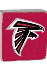 RUSTIC MARLIN Atlanta Falcons Rustic Wood Team Block