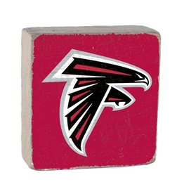 RUSTIC MARLIN Atlanta Falcons Rustic Wood Team Block