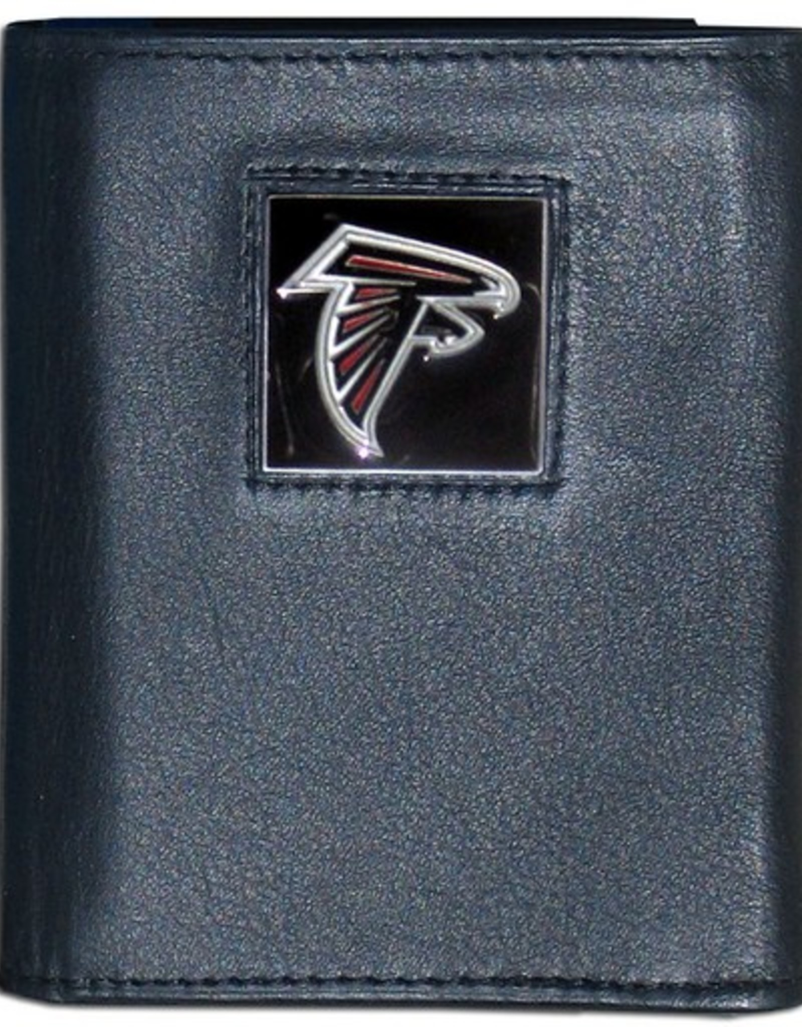 SISKIYOU GIFTS Atlanta Falcons Executive Black Leather Trifold Wallet