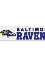 "WINCRAFT Baltimore Ravens 4""x17"" Perfect Cut Decals"