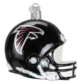 OLD WORLD CHRISTMAS Atlanta Falcons Helmet Ornament