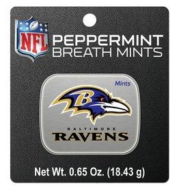 Baltimore Ravens Breath Mints Tin