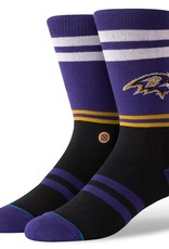 STANCE Baltimore Ravens Logo Crew Socks