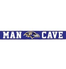 RUSTIC MARLIN Baltimore Ravens Rustic Man Cave Sign