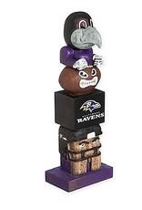 EVERGREEN Baltimore Ravens Tiki Totem