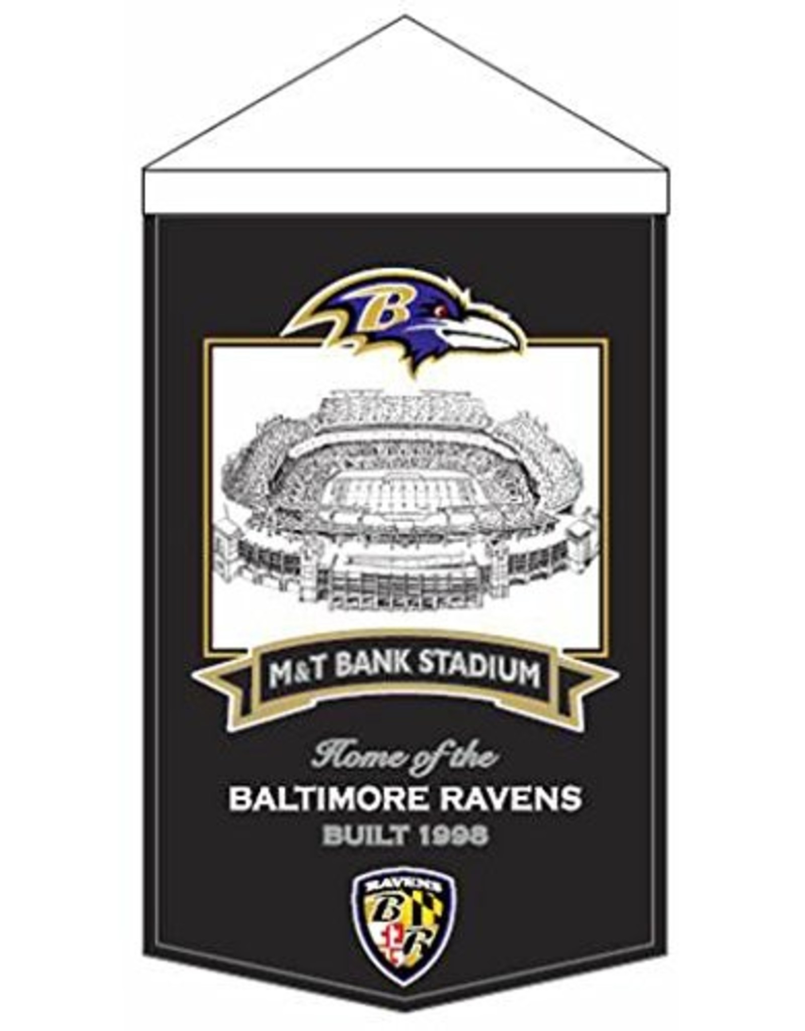 Baltimore Ravens M & T Bank Stadium Banner