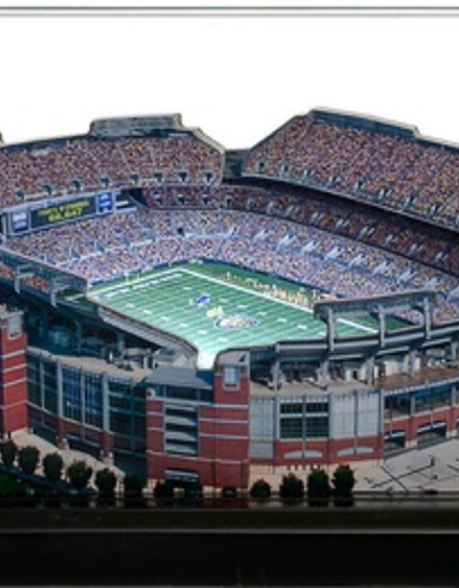 HOMEFIELDS Baltimore Ravens 13IN Lighted Replica M&T Bank Stadium