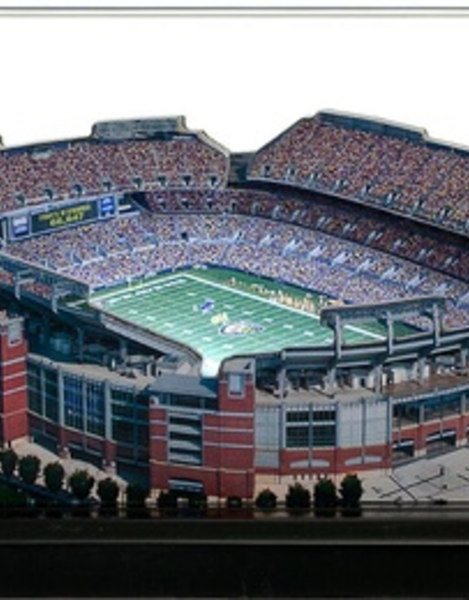 HOMEFIELDS Baltimore Ravens 19IN Lighted Replica M&T Bank Stadium