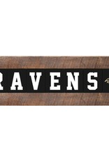 RUSTIC MARLIN Baltimore Ravens Marlin Classic Wood Sign