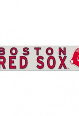 """WINCRAFT Boston Red Sox 4""""x17"""" Perfect Cut Decals"""