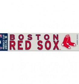 "WINCRAFT Boston Red Sox 4""x17"" Perfect Cut Decals"